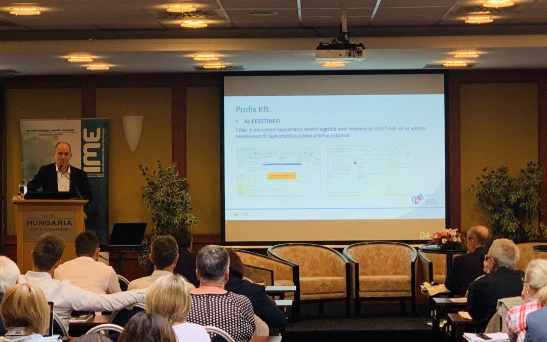 EESZT Info az IME XVII. Konferencián