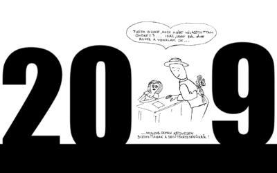 Viszlát 2019, szia 2020!