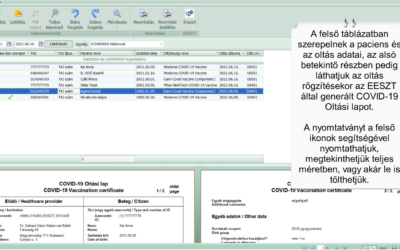 Praxisközösségi funkciók fejlesztése a MedMaxban.